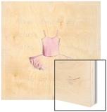 Ballet Tutu Wood Print by Lauren Hamilton