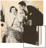 The Thin Man, Myrna Loy, William Powell, 1934 Wood Sign