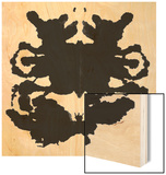 Rorschach Test Wood Print by  akova
