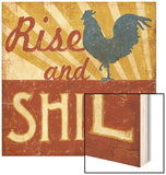 Rise and Shine Wood Print by Ted Zorns