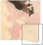 Afrodita Wood Print by Manuel Rebollo