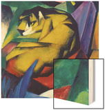 The Tiger, 1912 Wood Print by Franz Marc