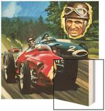 Juan Manuel Fangio Wood Print by Wilf Hardy