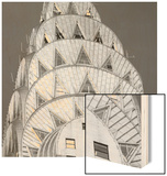 Elegant Tower Wood Print by Bret Staehling