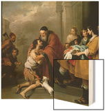 The Return of the Prodigal Son, 1667/70 Wood Print by Bartolomé Estéban Murillo