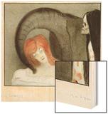 The Dummy, c.1903 Wood Print by Alfred Kubin
