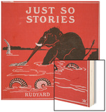 Front Cover from 'Just So Stories for Little Children' by Rudyard Kipling, 1951 Wood Print by Rudyard Kipling