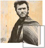 Two Mules for Sister Sara, Clint Eastwood, 1970 Wood Print