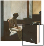 Hotel Room Wood Print by Edward Hopper