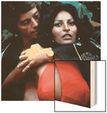 Foxy Brown, Peter Brown, Pam Grier, 1974 Wood Print