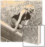 Jean Harlow, Early 1930s Wood Print