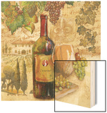 Tuscan Harvest - Wine Wood Sign by Gregory Gorham