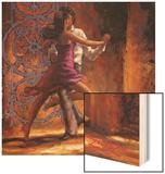 Dance Me In Wood Print by Zeph Amber