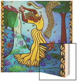 Oshun, 2011 Wood Print by Laura James