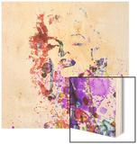 Marilyn Monroe Wood Print by  NaxArt