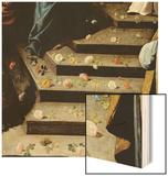 Strewing Flowers Wood Print by Francisco de Zurbarán