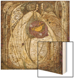 The Heart of the Rose, 1902 Wood Print by Margaret MacDonald