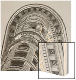 New York City Architecture Wood Print by Bret Staehling
