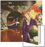 Willy Wonka And The Chocolate Factory, Gene Wilder, 1971 Wood Print