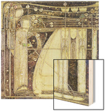 The Opera of the Wind, c.1902 Wood Print by Margaret MacDonald