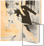 The Gay Divorcee, Ginger Rogers, Fred Astaire, 1934 Wood Print