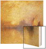 Opalescent Venice Wood Print by Thomas Moran