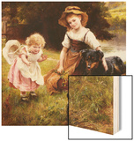 Clean as a New Pin Wood Print by George Hillyard Swinstead