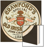 Crawford's Old Irish Whiskey Wood Print