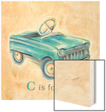 C is for Car Wood Print by Catherine Richards