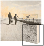 Toward Los Angeles, California Wood Print by Dorothea Lange