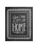 When I Look At You, I'm Home Plakater