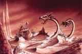 Rodney Matthews - Chariots Poster