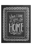 When I Look At You, I'm Home Prints