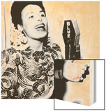 Lena Horne. ca. 1943 Wood Sign