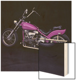 1948 Harley-Davidson, Panhead Wood Print