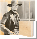 Once Upon a Time in the West, Henry Fonda, 1968 Wood Print