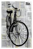 Bike Póster por Loui Jover