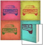 Chevy Camaro Pop Art 1 Wood Sign by  NaxArt
