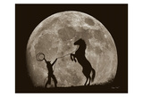 Bad Moon Risin Print by Barry Hart