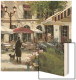 Floral Promenade Wood Sign by Brent Heighton