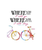 Where You Go Giclee Print by Danny Phillips