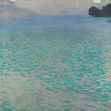 Attersee, 1900 Prints by Gustav Klimt
