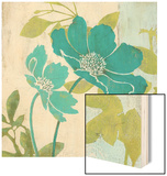Modern Windflower Wood Print by Stefania Ferri