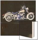 1996 Harley-Davidson, Custom Heritage Softail Wood Print