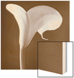 Calla Lily Wood Sign by Tom Marks