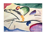 Lyrical, 1911 Lámina giclée por Wassily Kandinsky
