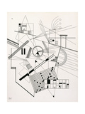 Untitled, 1925 Giclée-trykk av Wassily Kandinsky