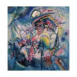 Moscow I, 1916 Lámina giclée por Wassily Kandinsky