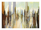Skyscraper City Giclee Print by Gregory Lang