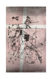Tightrope Walker; Seiltanzer, 1923 ジクレープリント : パウル・クレー
